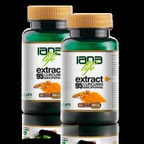 Pachet Dublu 60 Extract95 Curcumin&Bioperine 2 x 60 capsule