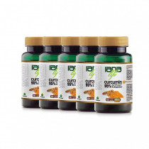 Pachet Family 60 – 5 x 60 capsule – Extract95 Curcumin&Bioperine