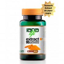 Extract 95 Curcumin & BioPerine supliment alimentar 90 capsule vegetale